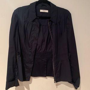 Prada Navy Zip Up Jacket